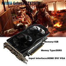 GeForce GTX 750Ti 1GB GDDR5 PCI Expressx16 Extended Port PC Game Graphics Card