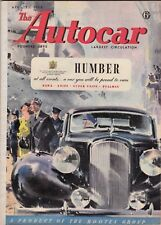 AUTOCAR Magazine 23rd April 1948  Humber Car cover  76 pages