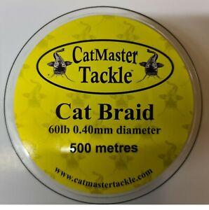 CatMaster Tackle Cat Braid 60lb 500 Metres Green