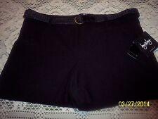 Cute Black Shorts -  Sz 9 Juniors - NWT!