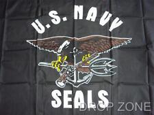 US Navy Seals Flag, 5 x 3 foot