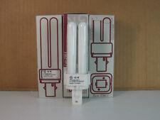 (4) Ge F10Dbx/827 F10Dbx/Spx27 Compact Fluorescent Light Bulb 10W 2-Pin Ww 12872