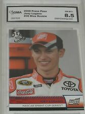 2009 PRESS PASS JOEY LOGANO #36 BLUE LETTERS ROOKIE CARD NM-MT8.5 FREE SHIPPING