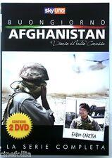 Dvd Buongiorno Afghanistan - Diario di Fabio Caressa - 2 dischi Usato