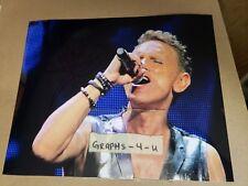 Martin Gore Signed Depeche Mode Autograph Proof COA b