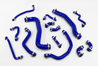 Silicone Coolant Radiator Hoses fits Toyota Celica GT4 ST205 Stoney Racing Blue