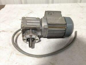 Sew-Eurodrive WF10DT56M4 Gearmotor 0.1kW 67RPM 3PH 460V 24.5:1