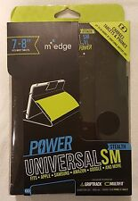 "New M EDGE Stealth Universal SM Magnetic Close Folio w/Keyboard 7-8"" Tablet Case"