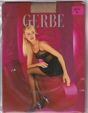Collant GERBE BUTTERFLY coloris Beige/Noir. Taille 3 - 9½. Tights.
