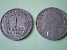 PIECE DE 1 FRANC 1948 B  MORLON en  ALUMINIUM