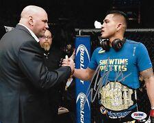 Anthony Pettis Signed UFC 8x10 Photo PSA/DNA COA 164 181 Dana White Belt Picture