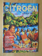 CITROEN primera línea 1992 verano Reino Unido MKT internamente REVISTA folleto-ZX DS