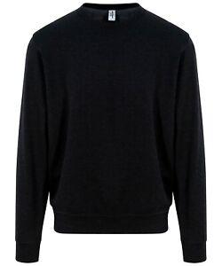 black Jumper sweatshirt pullover plain JH030 mens AWD is Hoods Sweater unisex