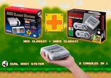 OFFICIAL SNES NES SUPER NINTENDO CLASSIC MINI CONSOLE 171 GAMES 141 SNES 30 NES
