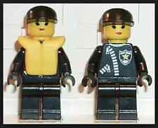 LEGO Police - Zipper with Sheriff Star, Black Cap, Life Jacket Lego mini figure