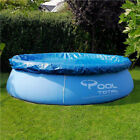 Above Ground Swimming Pool Cover Tarp Inflatable Easy Fast Set Rope Family 10FT