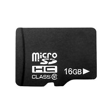 16GB 16G MicroSD Micro SD Memory Card TF Flash SDHC Class 10 Mobile Smart Phone