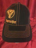 Men's NWOT JÄGERMEISTER Snap Adj Black Hat/Ball Cap H17