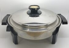 Americraft Kitchen Craft E23049 Stainless Steel 900W Electric Skillet (RF1012)