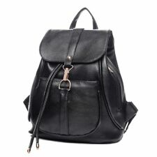 Black Fashion PU leather Backpack for Girls or Women