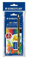 Staedtler 12er-Etui Farbstifte mit Bleistift u. Radierer