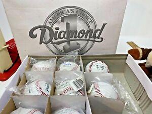America's Choice Diamond Baseballs D-YB Lot of 8 NEW in Box  SKU 091-014