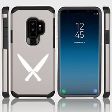 For Samsung Galaxy S9 S9+ Shockproof Hard Soft Bumper Case Cover Chef Knives