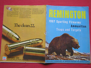 479. 1967 Remington Sporting firearms brochure in color. This brochure is 44 pag
