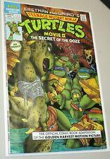 Teenage Mutant Ninja Turtles Movie II The Secret of the Ooze Comic Book 1991 NM+