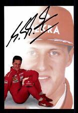 Michael Schumacher ++Autogramm++ ++FORMEL 1 Weltmeister ++CH 143