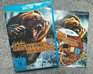 Cabela's Dangerous Hunts 2013 - Wii U - PAL European, plays in English