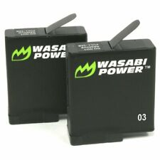 Wasabi Power Battery (2-Pack) for GoPro HERO7 Black, HERO6, HERO5