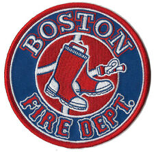 Boston Red Sox Fire Department Patch
