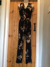BNWT MARKS & SPENCER FLORAL CULOTTE JUMPSUIT SIZE 10 NEXT STYLE