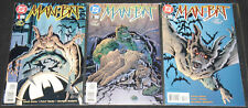 Modern DC MAN-BAT VOL. 2 #1-3 - 3pc Mid-High Grade Comic Lot VF-NM Batman