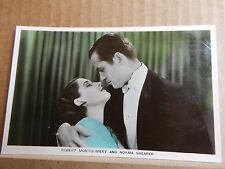 .Film partners  Postcard PC27 Robert Montgomery And Norma shearer unposted