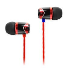 SoundMAGIC E10 - HiFi In-Ear-Kopfhörer, Farbe rot, Smartphone kompatibel