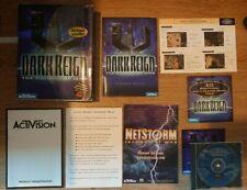 Dark Reign: The Future of War (1997) Big Box PC Game Vintage/Retro Activision