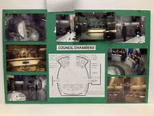 Babylon 5 Council Chambers Set Design Storyboard Used During Production
