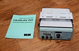 Kelvin Hughes Husun 60 vhf marine radio untested main unit w/ operations manual