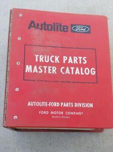1964 THRU 1972 FORD DEALER TRUCKS MASTER PARTS CATALOG BOOK ILLUSTRATIONS PART#S