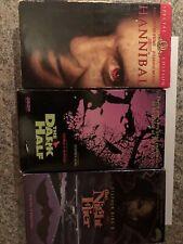Stephen King Vhs Lot Of 3 (Hannibal,The Night Flier,The Dark Half)