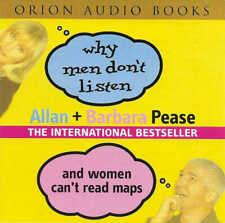 Allan & Barbara Pease - Why Men Don't Listen & Women Can't Read Maps - CD Audio