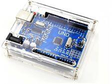 Crystal Clear Acrylic Enclosure Box Compatible With Arduino Uno