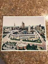Jacobs Field Progressive Field Glossy Print Photo - Cleveland Indians - MINT