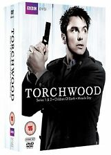 TORCHWOOD Complete TV Series 1 2 3 4 DVD Collection Boxset NEW Torch Wood