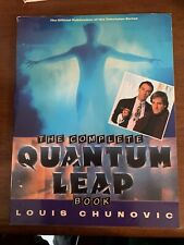 The Quantum Leap Book 1994 Illustrated Softcover About the Tv Series - Nice Copy