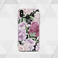 Flowers iPhone 11 XR Cover Cute iPhone XS 7 8 Case Floral Rose iPhone 12 SE Skin