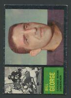 1962 Topps #22 Bill George  VG/VGEX C000016858A