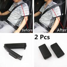 2Pcs Car Smart Seatbelt Adjuster Clip Buckle Shoulder Relax Neck Comfort Support
